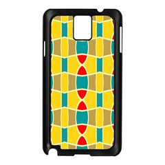 Colorful chains patternSamsung Galaxy Note 3 N9005 Case (Black)