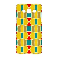 Colorful chains patternSamsung Galaxy A5 Hardshell Case