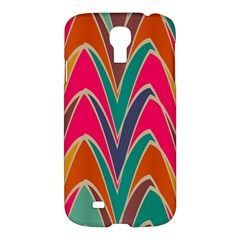 Bended shapes in retro colorsSamsung Galaxy S4 I9500/I9505 Hardshell Case