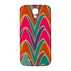 Bended shapes in retro colorsSamsung Galaxy S4 I9500/I9505 Hardshell Back Case