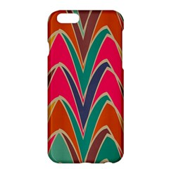 Bended Shapes In Retro Colorsapple Iphone 6 Plus/6s Plus Hardshell Case