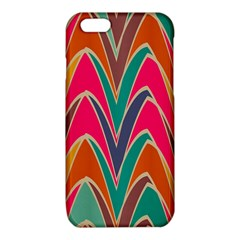 Bended shapes in retro colorsiPhone 6/6S TPU Case