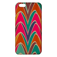 Bended shapes in retro colorsiPhone 6 Plus/6S Plus TPU Case