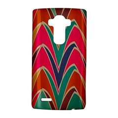 Bended shapes in retro colors			LG G4 Hardshell Case