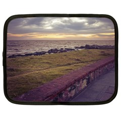 Playa Verde Coast In Montevideo Uruguay Netbook Case (XL)