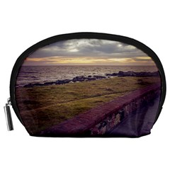 Playa Verde Coast In Montevideo Uruguay Accessory Pouches (Large)