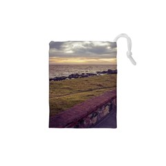 Playa Verde Coast In Montevideo Uruguay Drawstring Pouches (XS)