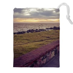 Playa Verde Coast In Montevideo Uruguay Drawstring Pouches (XXL)