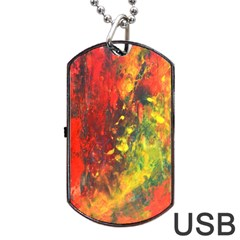 WILD Dog Tag USB Flash (One Side)
