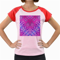 Ethnic Tribal Pattern G327 Women s Cap Sleeve T-Shirt