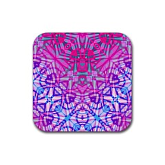 Ethnic Tribal Pattern G327 Rubber Coaster (Square)