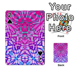 Ethnic Tribal Pattern G327 Playing Cards 54 Designs