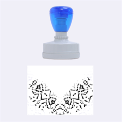 Ethnic Tribal Pattern G327 Rubber Oval Stamps