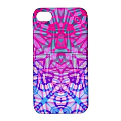 Ethnic Tribal Pattern G327 Apple iPhone 4/4S Hardshell Case with Stand