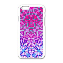 Ethnic Tribal Pattern G327 Apple Iphone 6/6s White Enamel Case
