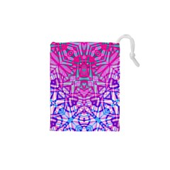 Ethnic Tribal Pattern G327 Drawstring Pouches (XS)