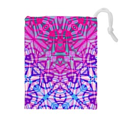 Ethnic Tribal Pattern G327 Drawstring Pouches (extra Large)