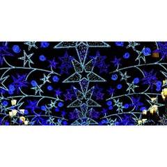 CHRISTMAS STARS YOU ARE INVITED 3D Greeting Card (8x4)