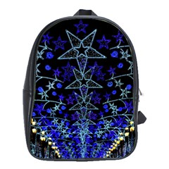 CHRISTMAS STARS School Bags (XL)