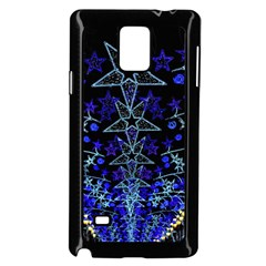 Christmas Stars Samsung Galaxy Note 4 Case (black)