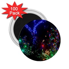 CHRISTMAS LIGHTS 2 2.25  Magnets (100 pack)