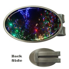 CHRISTMAS LIGHTS 2 Money Clips (Oval)