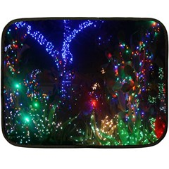 CHRISTMAS LIGHTS 2 Fleece Blanket (Mini)