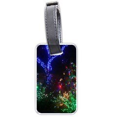 CHRISTMAS LIGHTS 2 Luggage Tags (Two Sides)