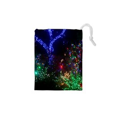 CHRISTMAS LIGHTS 2 Drawstring Pouches (XS)