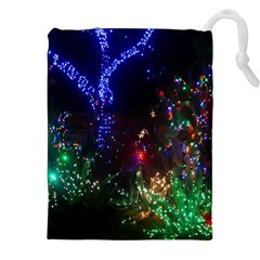 CHRISTMAS LIGHTS 2 Drawstring Pouches (XXL)