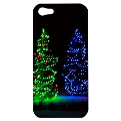 CHRISTMAS LIGHTS 1 Apple iPhone 5 Hardshell Case