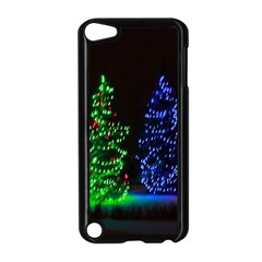CHRISTMAS LIGHTS 1 Apple iPod Touch 5 Case (Black)