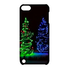 CHRISTMAS LIGHTS 1 Apple iPod Touch 5 Hardshell Case with Stand