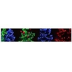 CHRISTMAS LIGHTS 1 Flano Scarf (Large)