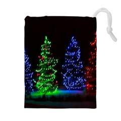 Christmas Lights 1 Drawstring Pouches (extra Large)