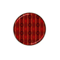 Red Gold, Old Oriental Pattern Hat Clip Ball Marker (10 pack)