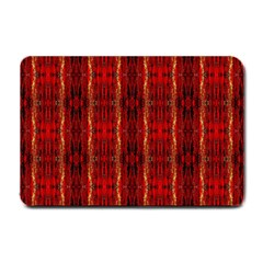 Red Gold, Old Oriental Pattern Small Doormat