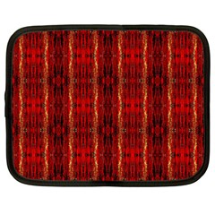 Red Gold, Old Oriental Pattern Netbook Case (Large)