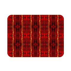 Red Gold, Old Oriental Pattern Double Sided Flano Blanket (Mini)
