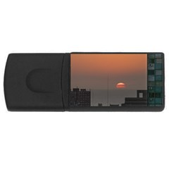 Aerial View Of Sunset At The River In Montevideo Uruguay USB Flash Drive Rectangular (1 GB)