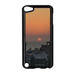 Aerial View Of Sunset At The River In Montevideo Uruguay Apple iPod Touch 5 Case (Black)