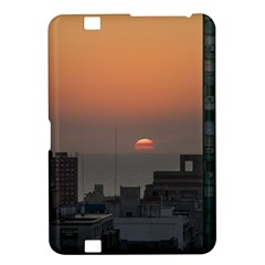 Aerial View Of Sunset At The River In Montevideo Uruguay Kindle Fire HD 8.9