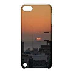Aerial View Of Sunset At The River In Montevideo Uruguay Apple iPod Touch 5 Hardshell Case with Stand
