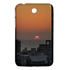 Aerial View Of Sunset At The River In Montevideo Uruguay Samsung Galaxy Tab 3 (7 ) P3200 Hardshell Case