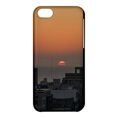 Aerial View Of Sunset At The River In Montevideo Uruguay Apple iPhone 5C Hardshell Case
