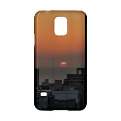 Aerial View Of Sunset At The River In Montevideo Uruguay Samsung Galaxy S5 Hardshell Case