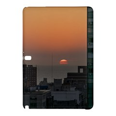 Aerial View Of Sunset At The River In Montevideo Uruguay Samsung Galaxy Tab Pro 10 1 Hardshell Case