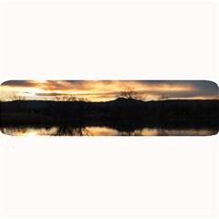 SUN REFLECTED ON LAKE Large Bar Mats