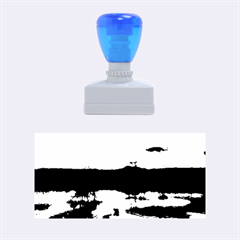 Sun Reflected On Lake Rubber Stamps (medium)