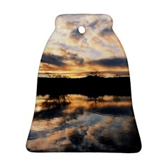 SUN REFLECTED ON LAKE Ornament (Bell)